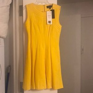 Ted Baker London Dresses - Ted Baker size 2 Mid yellow detail dress.